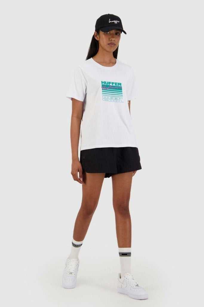 HUFFER Keep Cool Chloe Tee White Front