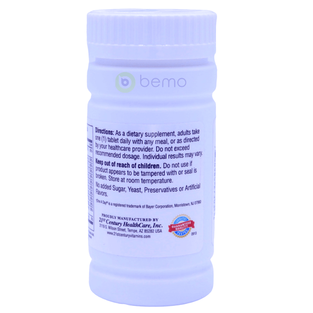 21st Century, One Daily, Essential, 100 Tablets - bemo (4425929162892)
