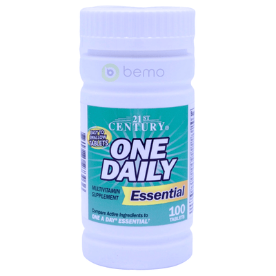 21st Century, One Daily, Essential, 100 Tablets - bemo