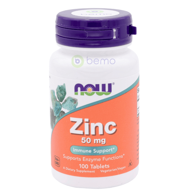 Now Foods, Zinc Gluconate, 50mg, 100 tablets (5378655912100)