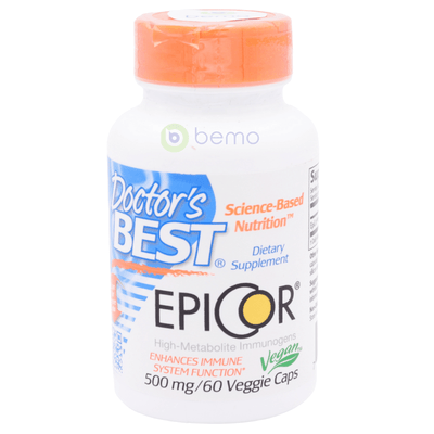 Doctor's Best, Epicor, 500mg, 60 Veg Caps (5378781806756)