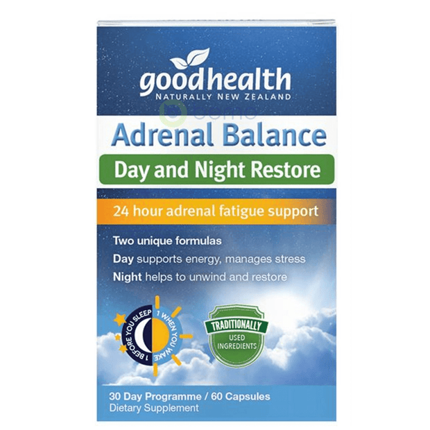 Good Health, Adrenal Balance 30 Day Program, 60 caps (5518380236964)