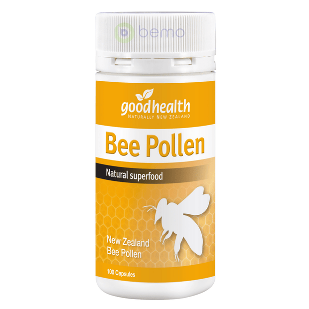 Good Health, Bee pollen, 100 caps (5511262699684)