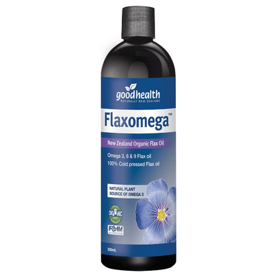Good Health, Flaxomega, 500ml (5511263551652)