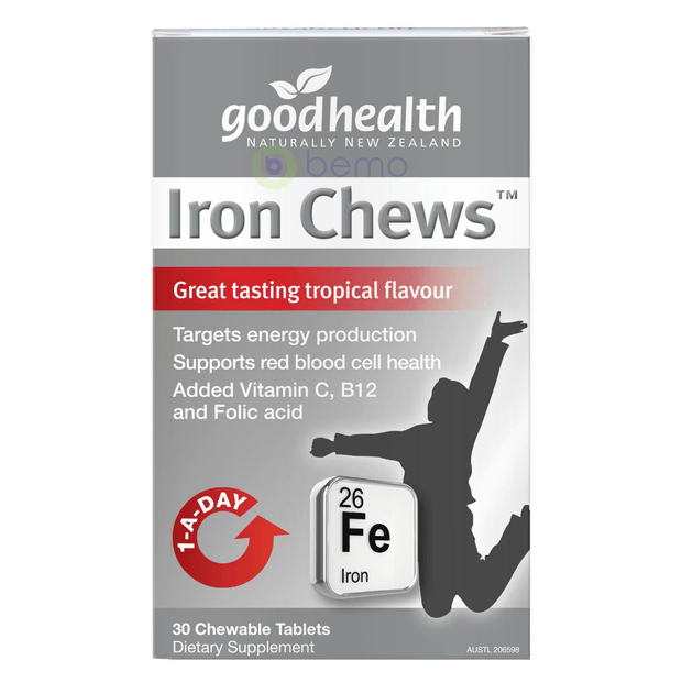 Good Health, Iron Chews, 30 tabs (5518380695716)