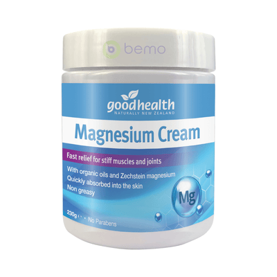 Good Health, Magnesium Cream 230g , 230g (5511264501924)