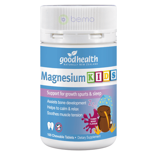 Good Health, Magnesium Kids Chewables, 100 tablets (5923830923428)