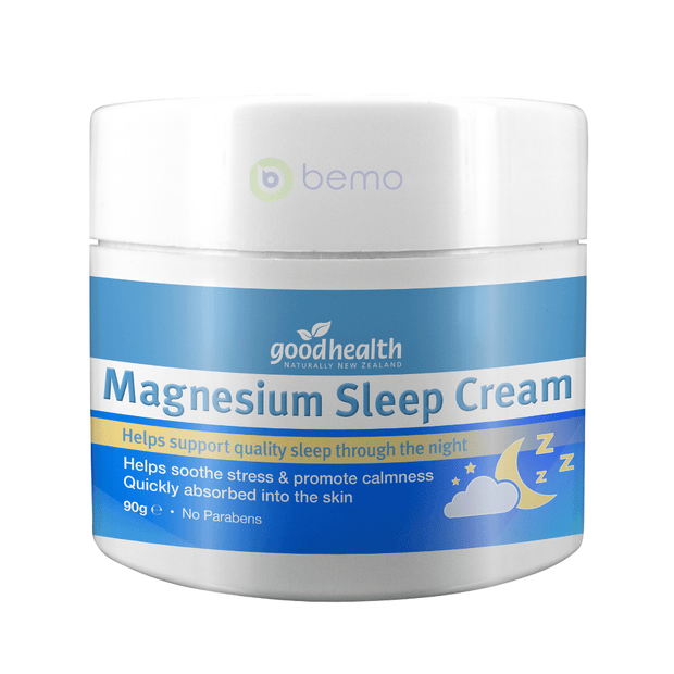 Good Health, Magnesium Sleep Cream, 90gm (5518380925092)