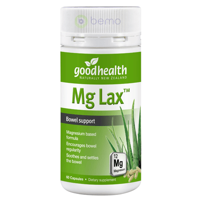 Good Health, Mg Lax, 60 caps (5518380990628)
