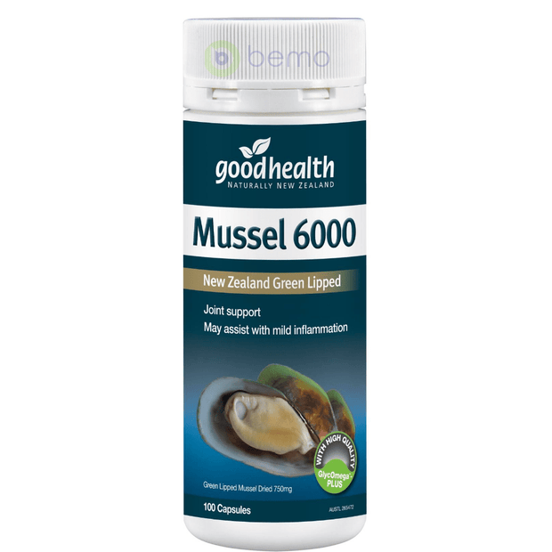 Good Health, Mussel 6000, 100 caps (5531420524708)