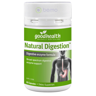 Good Health, Natural Digestion, 60 caps (5518381121700)