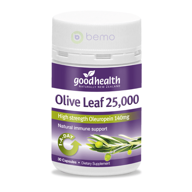 Good Health, Olive Leaf 25000, 30 caps (5518381154468)