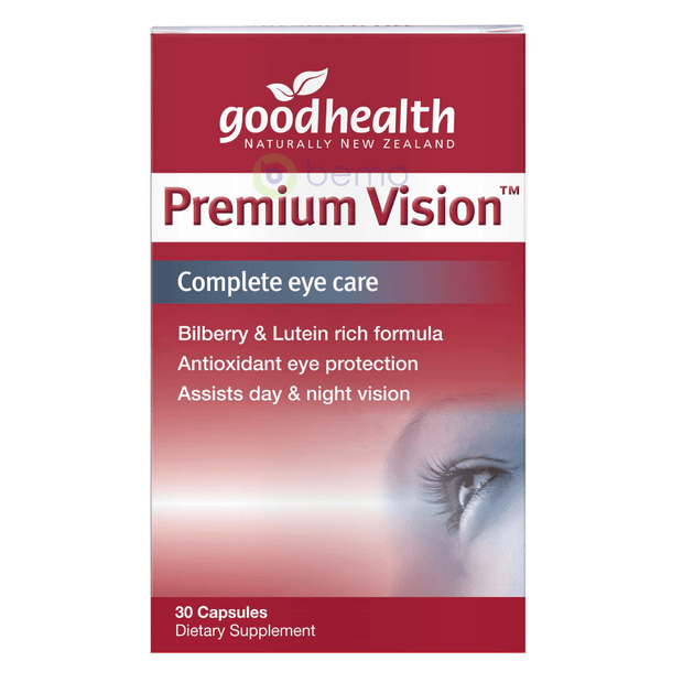 Good Health, Premium Vision Eyecare, 30 caps (5518381220004)