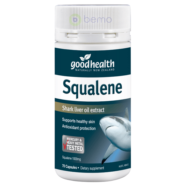 Good Health, Squalene Shark Oil, 70 caps (5518381252772)