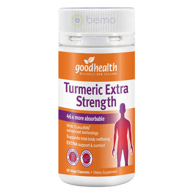Good Health, Turmeric Extra Strength, 60 caps (5518381449380)