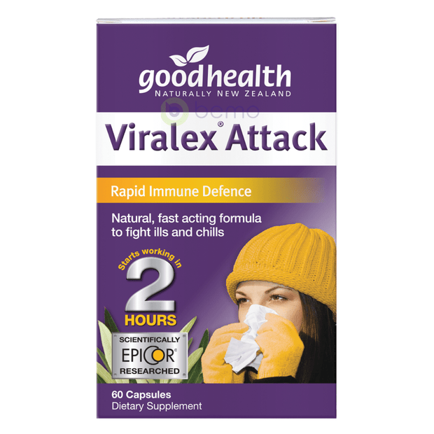 Good Health, Viralex Attack, 60 caps (5518381547684)