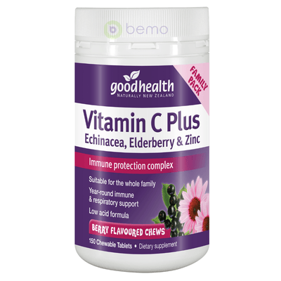 Good Health, Vitamin C Plus, 150 tabs (5531425112228)