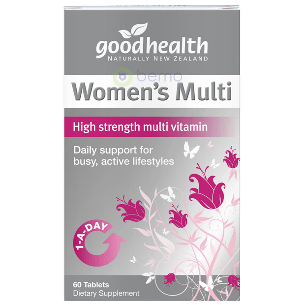 Good Health, Women's Multi, 60 tabs (5531425177764)