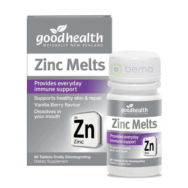 Good Health, Zinc Melts, 60 tabs (5531425341604)