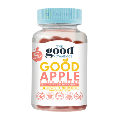 Good Vitamin Co, Apple Cider Vinegar Gummies, 60 Gummies (5948086845604)