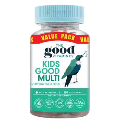 Good Vitamin Co, Kids Multi Value Pack, 160 Gummies (5949809000612)