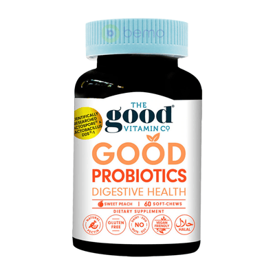 Good Vitamin Co, Probiotics Digestive Health, 60 Gummies (5948847227044)