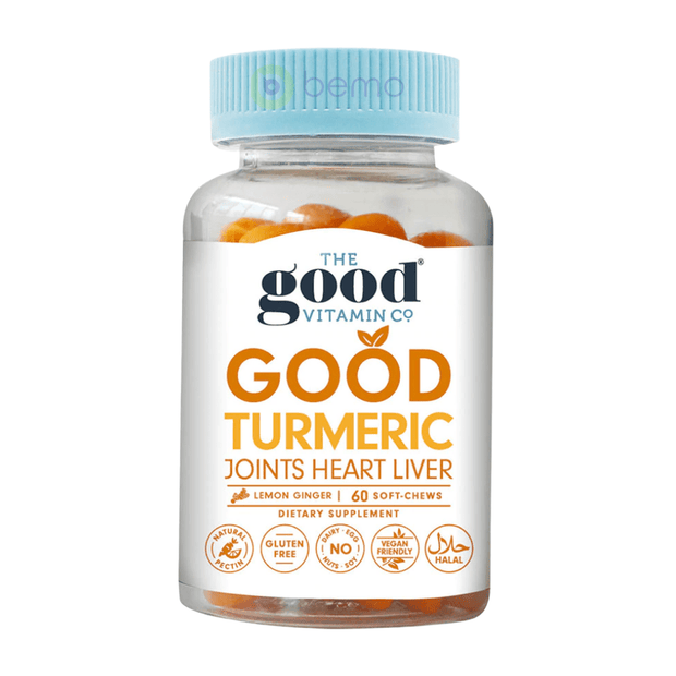 Good Vitamin Co, Turmeric Joints Heart, 60 Gummies (5948893593764)