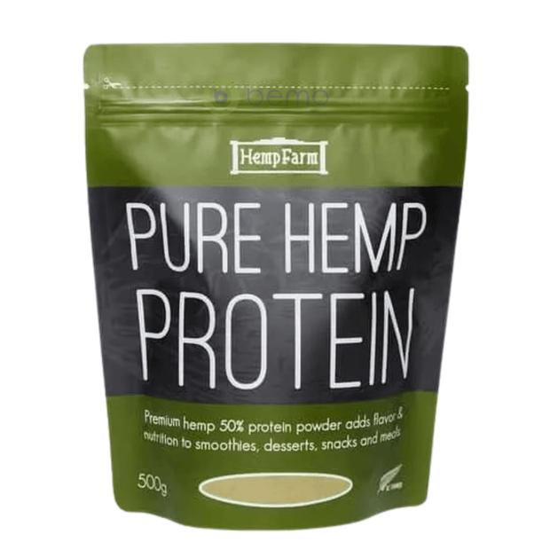 Hemp Farm, Pure Hemp Protein Powder, 500g (5867426087076)
