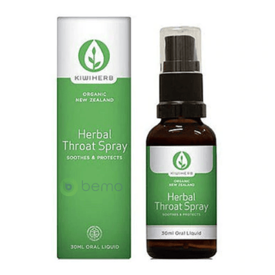 Kiwiherb, Herbal Throat Spray, 30ml (6543782772900)