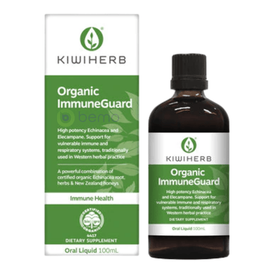 Kiwiherb, Organic Immune Guard, 100ml (6543783231652)