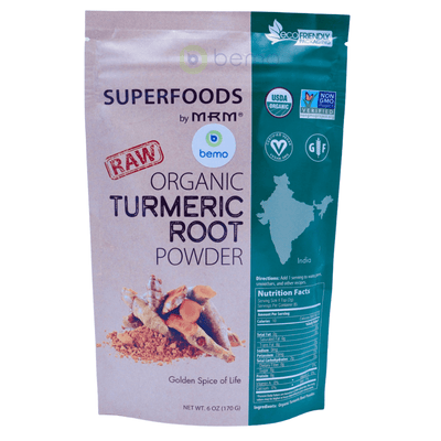 MRM, Raw Organic Turmeric Root Powder, 170g - bemo (4419923443852)
