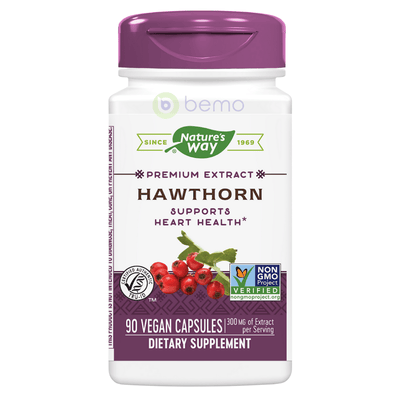 Hawthorn Extract Heart Support 90s (6053704138916)