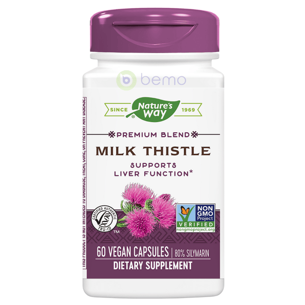 Milk Thistle Standardised 60s (6053704269988)