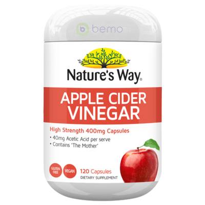 Nature's Way Apple Cider Vinegar 120s (6023971438756)