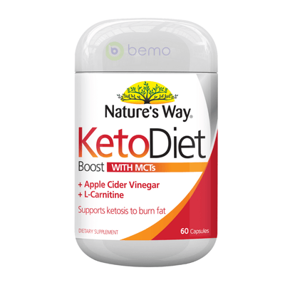 Nature's Way Keto Diet Boost Capsules 60s (6023971242148)