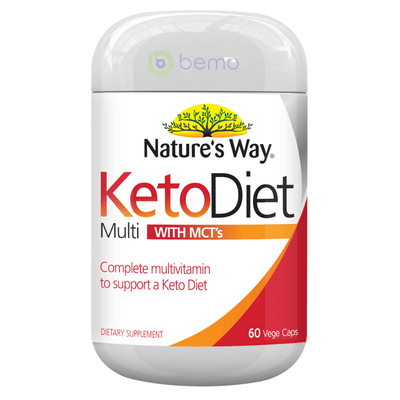 Nature's Way Keto Diet Multi Capsules 60s (6023971340452)