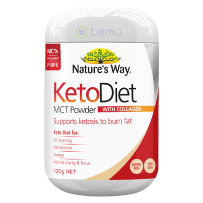Nature's Way Keto Diet MCT Powder 120g (6023971111076)