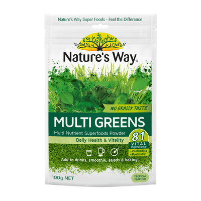 Nature's Way Superfood Multi Green Powder 100g (6023971405988)