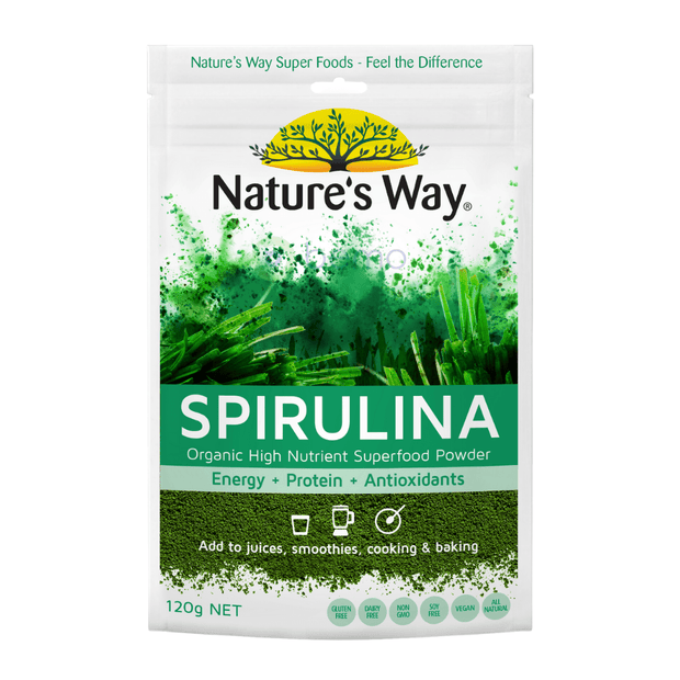 Nature's Way Superfood Spirulina Powder 120g (6023971373220)