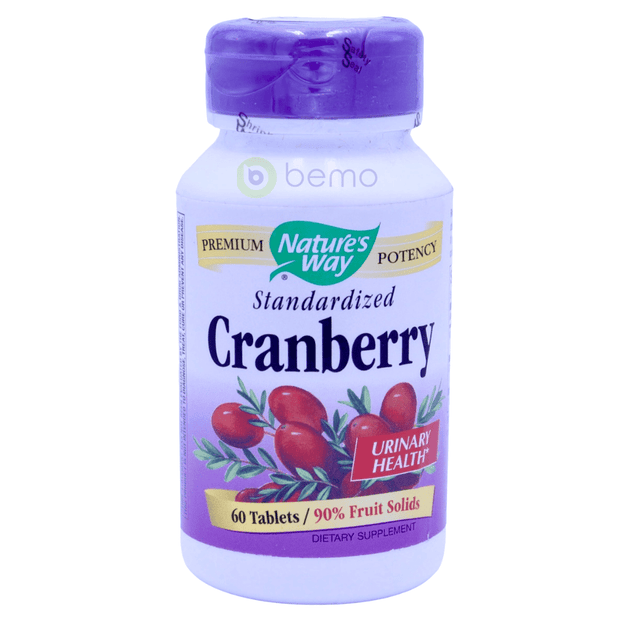 Nature's Way, Cranberry, Standardized, 60 Tablets - bemo (4418531098764)