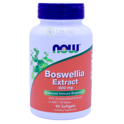 Now Foods, Boswellia Extract, 500 mg, 90 Softgels - bemo (4414619451532)