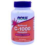 Now Foods, C-1000, With 100mg of Bioflavonoids, 100 Veg Capsules - bemo (4428637864076)