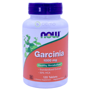 Now Foods, Garcinia Cambogia, 1,000 mg, 120 Tablets - bemo (4422388187276)