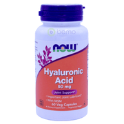 Now Foods, Hyaluronic Acid, 50 mg, 60 Veg Capsules - bemo (4422601113740)