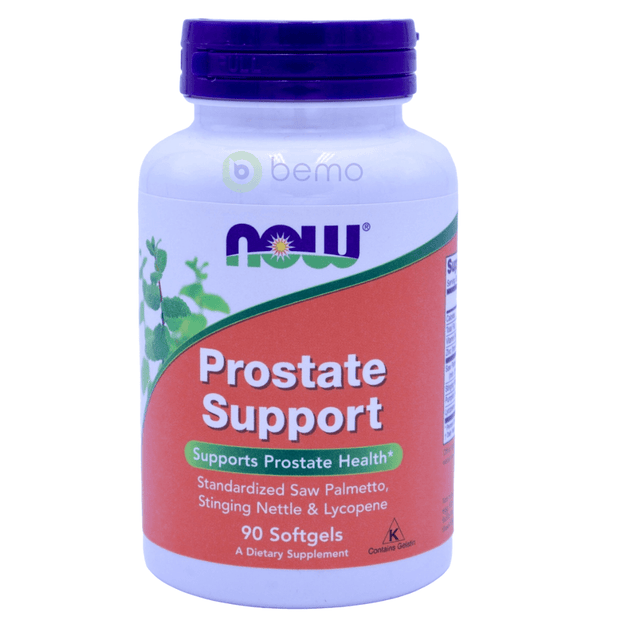 Now Foods, Prostate Support, 90 Softgels - bemo