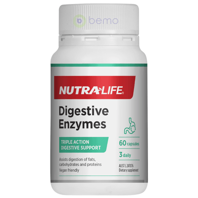 Nutra-Life, Digestive Enzymes, 60 Caps (5673220243620)