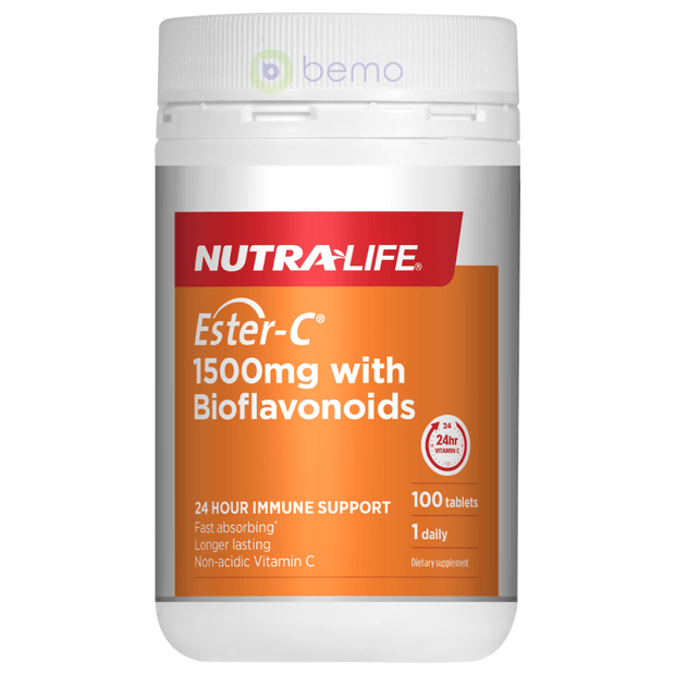 Nutra-Life, Ester C 1500mg + Bioflavonoids, 100 tabs (5673210282148)