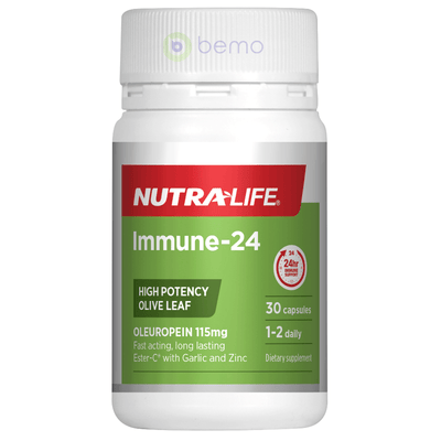 Nutra-Life, Immune-24, 30 tabs (5673216573604)