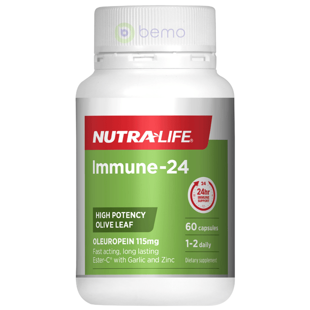 Nutra-Life, Immune-24, 60 tabs (5673216770212)