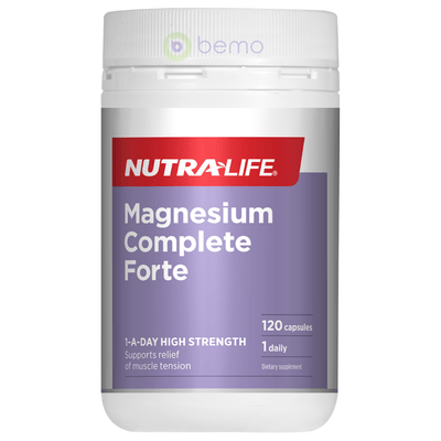 Nutra-Life, Magnesium Complete Forte, 120 caps (5673215393956)